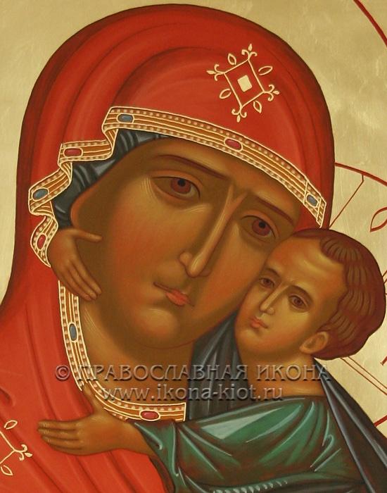 Икона «Толгская Божия Матерь» (образец №2)