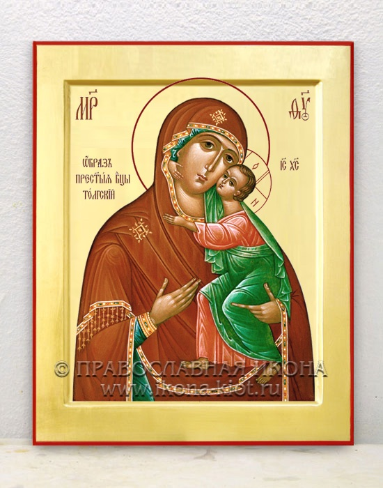 Икона «Толгская Божия Матерь» (образец №3)