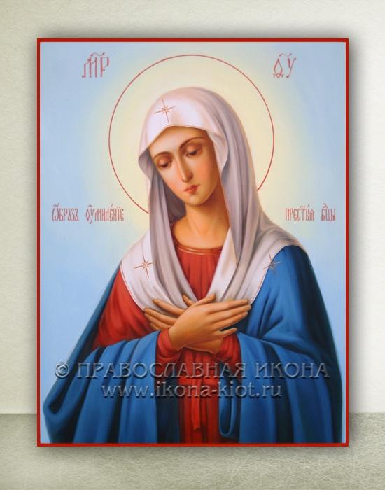 Икона «Умиление Божией Матери» (образец №6)