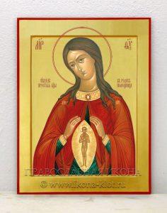 Икона «Помощница в родах» (образец №2)