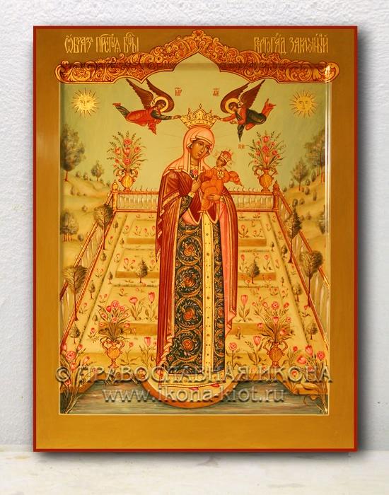 Икона «Вертоград заключенный» (образец №1)