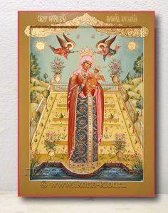 Икона «Вертоград заключенный» (образец №3)