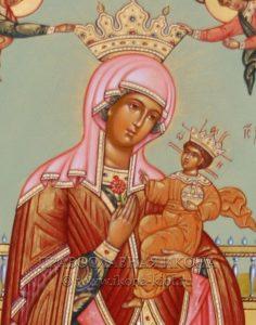 Икона «Вертоград заключенный» (образец №4)