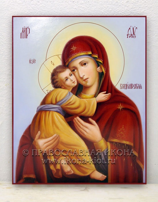 Икона «Владимирская Божия Матерь» (образец №2)