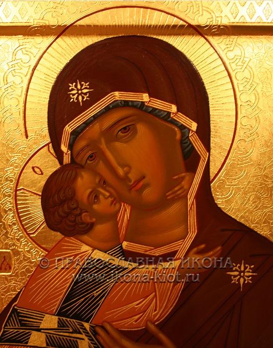 Икона «Владимирская Божия Матерь» (образец №17)