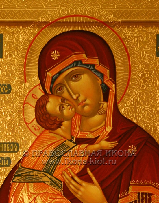 Икона «Владимирская Божия Матерь» (образец №19)