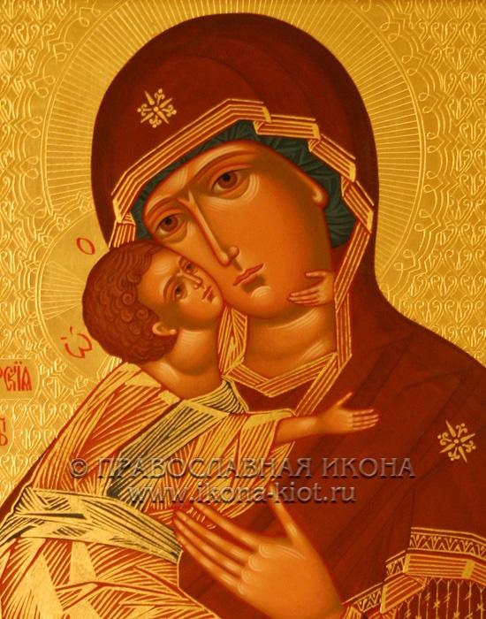 Икона «Владимирская Божия Матерь» (образец №21)