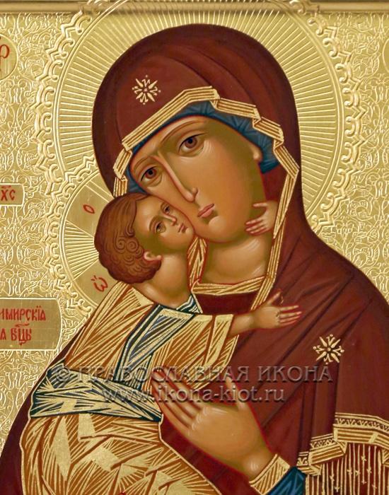 Икона «Владимирская Божия Матерь» (образец №23)