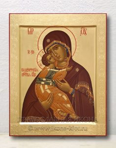 Икона «Владимирская Божия Матерь» (образец №24)