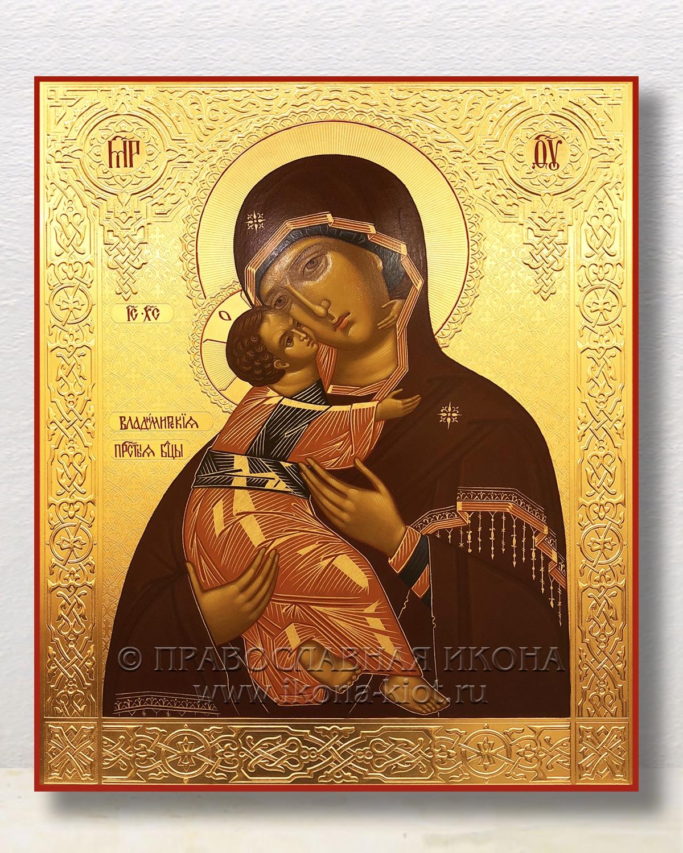 Икона «Владимирская Божия Матерь» (образец №25)