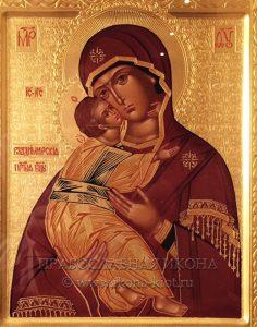 Икона «Владимирская Божия Матерь» (образец №32)