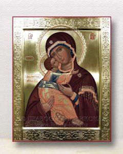 Икона «Владимирская Божия Матерь» (образец №36)