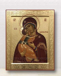 Икона «Владимирская Божия Матерь» (образец №37)