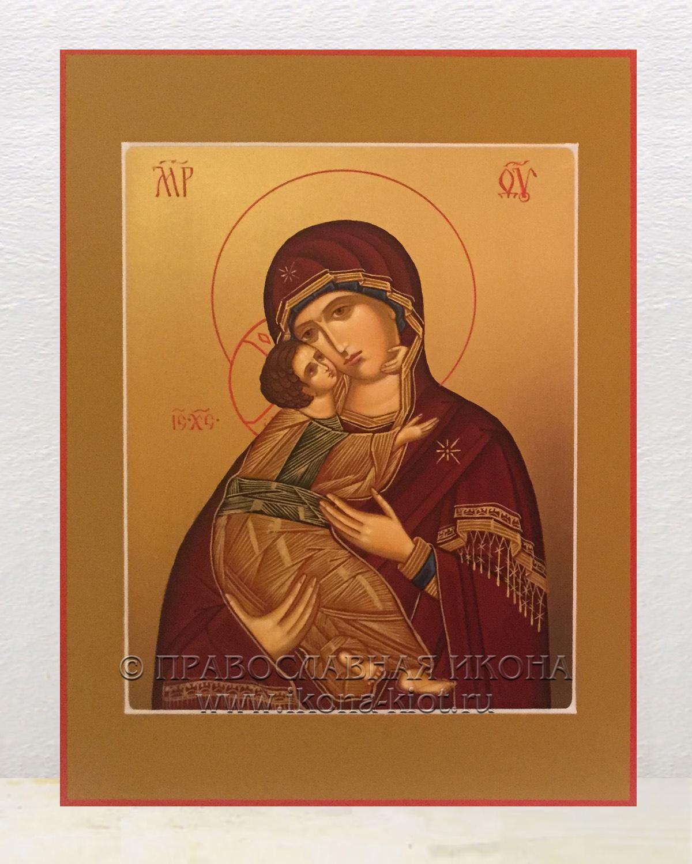 Икона «Владимирская Божия Матерь» (образец №11)