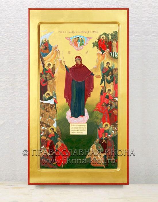 Икона «Всех Скорбящих Радость» (образец №2)