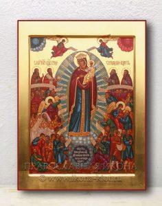 Икона «Всех Скорбящих Радость» (образец №3)