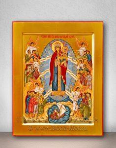 Икона «Всех Скорбящих Радость» (образец №5)