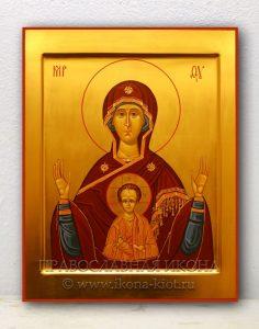 Икона «Знамение Пресвятой Богородицы» (образец №1)