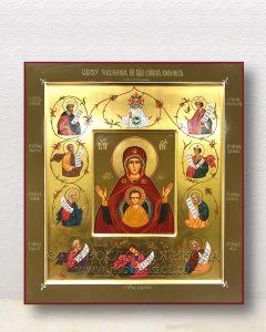 Икона «Знамение (Курская Коренная)» (образец №1)