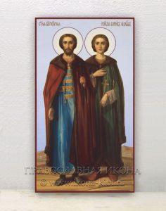 Икона «Борис и Глеб, благоверные князья» (образец №2)