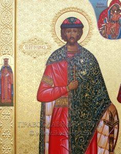 Икона «Борис и Глеб, благоверные князья» (образец №4)