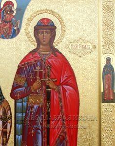 Икона «Борис и Глеб, благоверные князья» (образец №5)