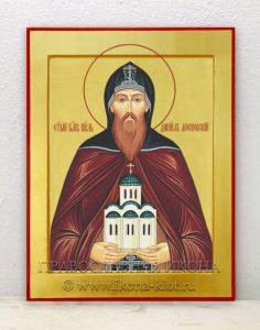 Икона «Даниил Московский» (образец №2)