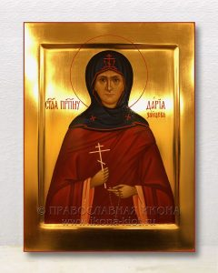 Икона «Дария Зайцева новомученица»