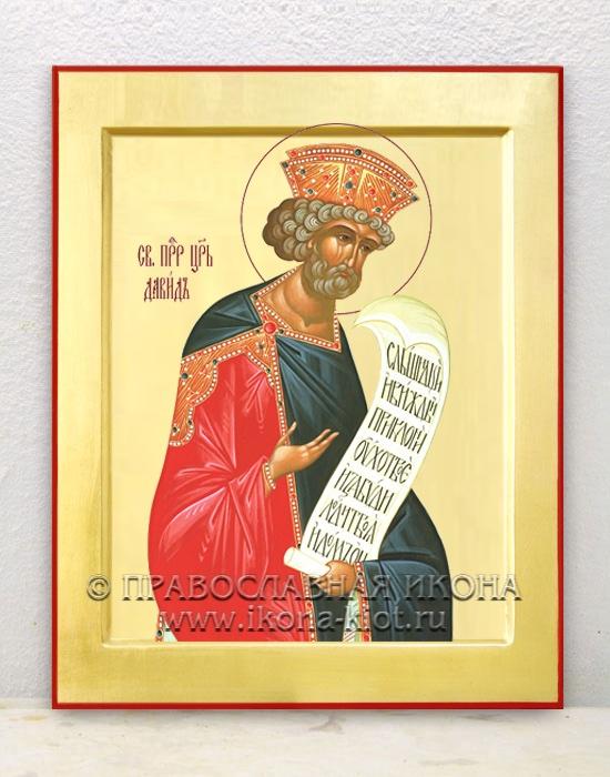 Икона «Давид пророк, царь» (образец №1)