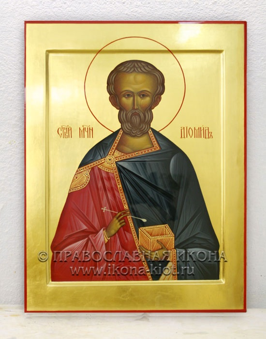 Икона «Диомид, мученик» (образец №1)