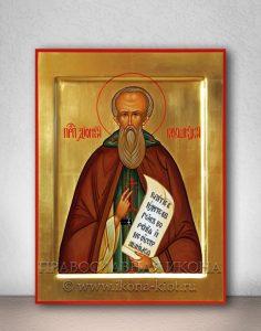 Икона «Дионисий Глушицкий» (образец №2)