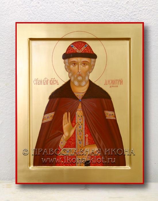 Икона «Дмитрий Донской, князь» (образец №1)