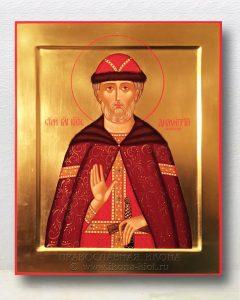 Икона «Дмитрий Донской князь» (образец №10)