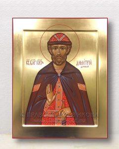 Икона «Дмитрий Донской князь» (образец №12)