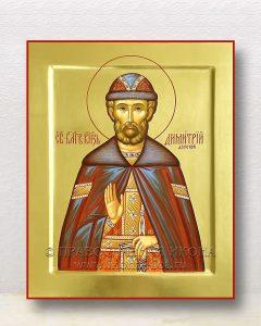 Икона «Дмитрий Донской князь» (образец №13)
