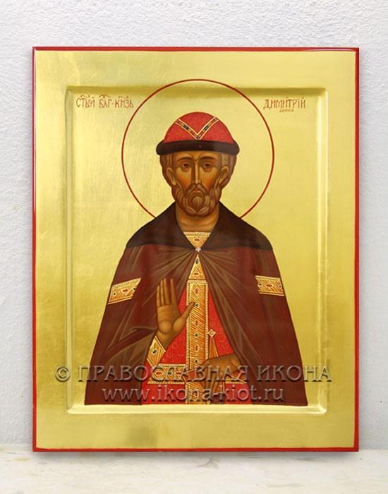 Икона «Дмитрий Донской, князь» (образец №3)