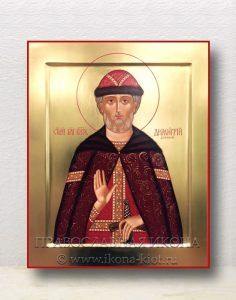 Икона «Дмитрий Донской князь» (образец №4)