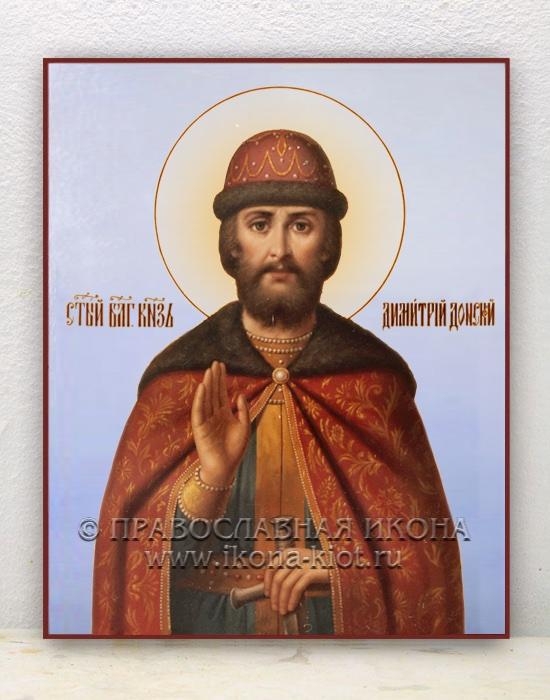 Икона «Дмитрий Донской, князь» (образец №5)