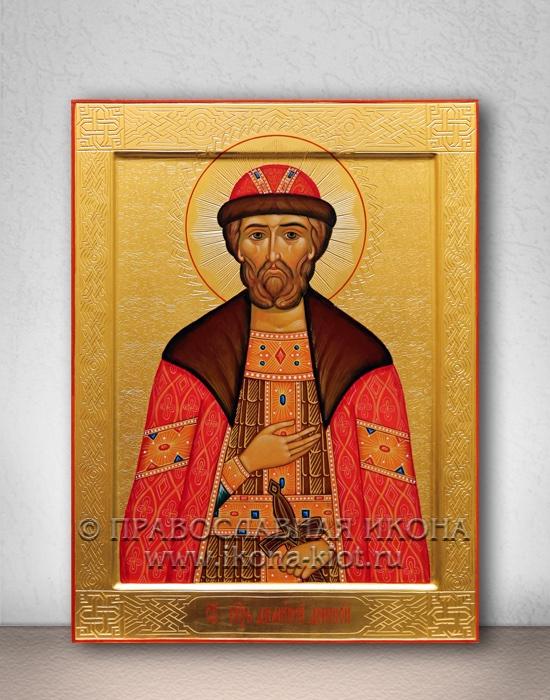 Икона «Дмитрий Донской, князь» (образец №7)