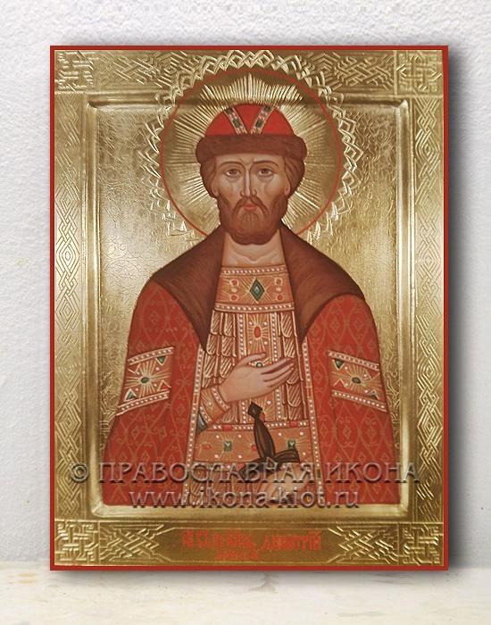Икона «Дмитрий Донской, князь» (образец №8)