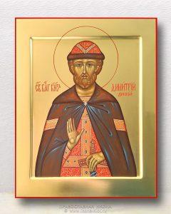 Икона «Дмитрий Донской князь» (образец №9)