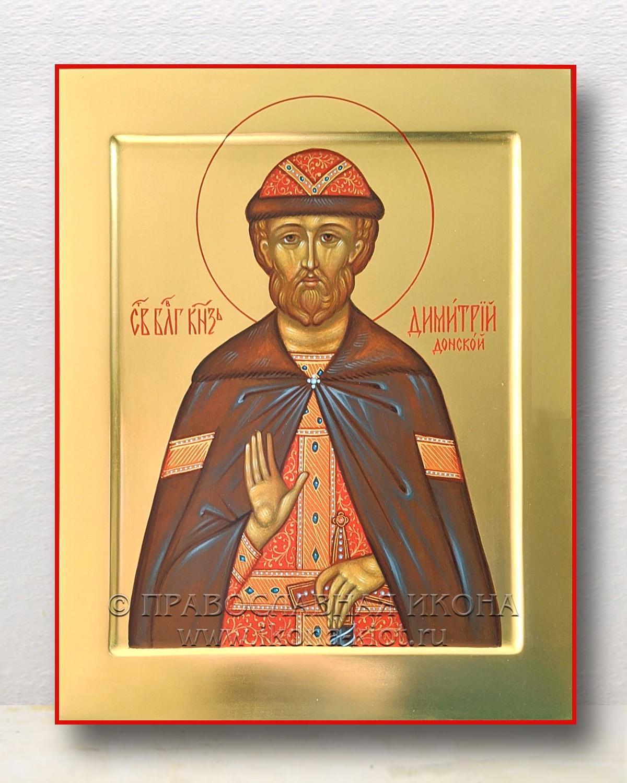 Икона «Дмитрий Донской, князь» (образец №9)