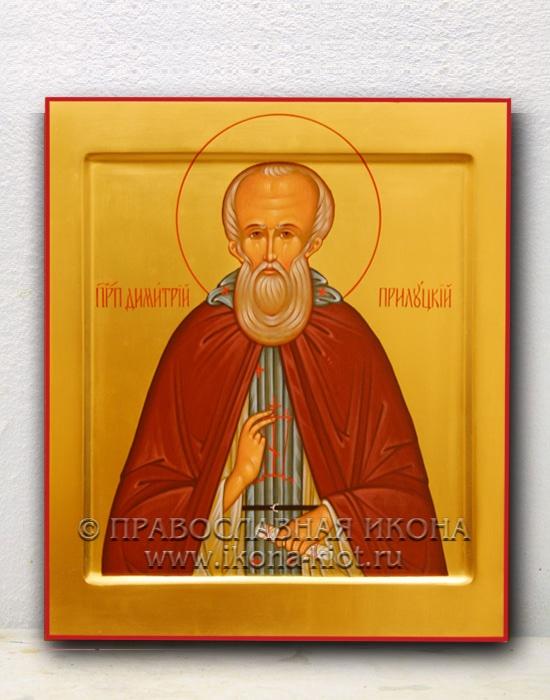 Икона «Дмитрий Прилуцкий, преподобный» (образец №2)