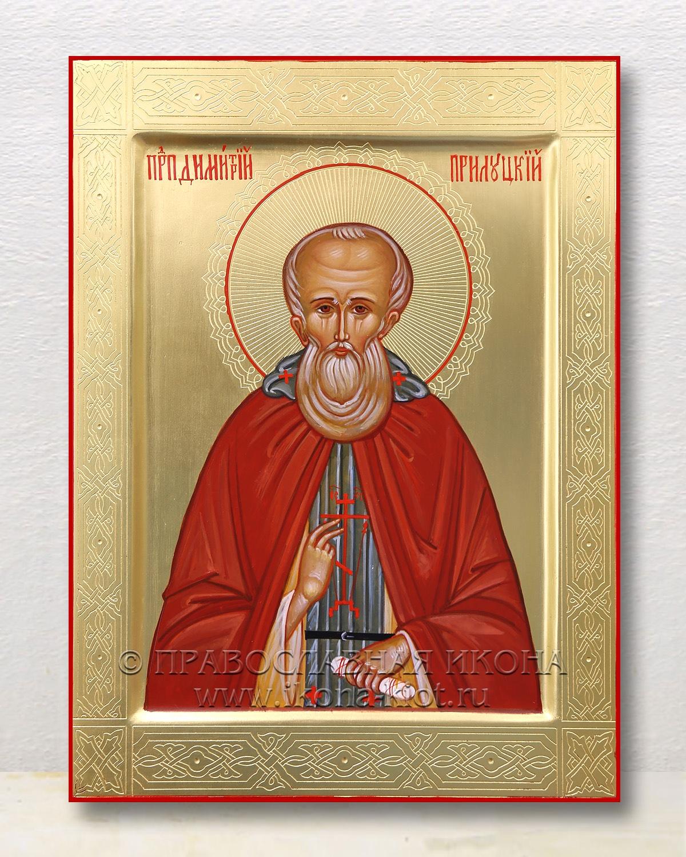 Икона «Дмитрий Прилуцкий, преподобный» (образец №1)