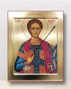 Икона «Дмитрий Солунский» (образец №8)