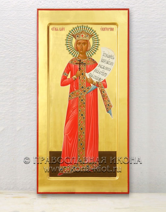 Икона «Екатерина Александрийская, великомученица» (образец №8)