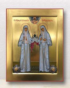 Икона «Елисавета и Варвара преподобномученицы» (образец №1)
