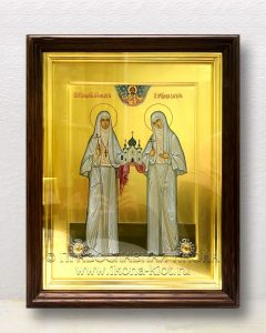 Икона «Елисавета и Варвара преподобномученицы» (образец №2)
