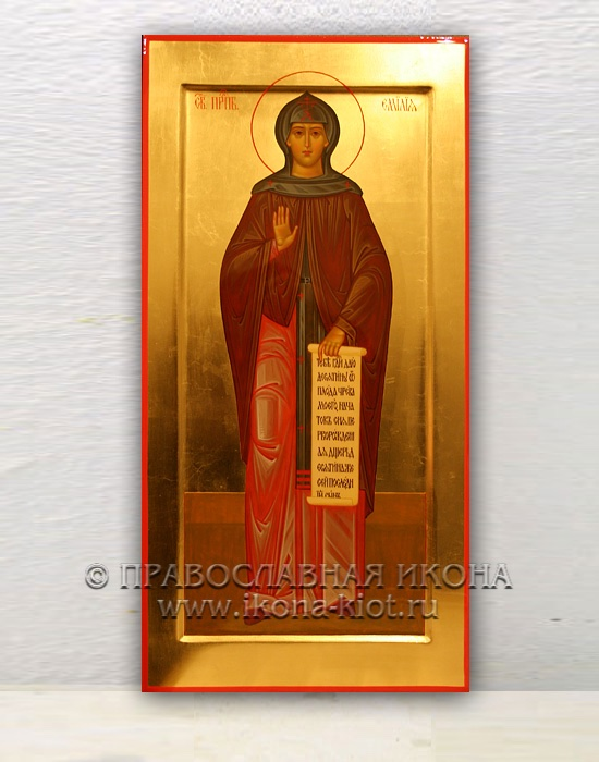 Икона «Емилия Кесарийская, преподобная» (образец №1)