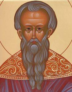 Икона «Ермолай Никомидийский» (образец №2)